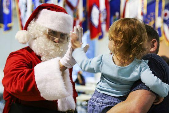 Babbo Natale bimbo