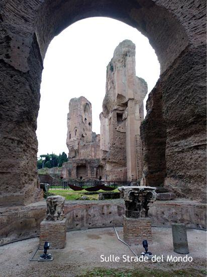 tepidarium Terme di Caracalla - Roma
