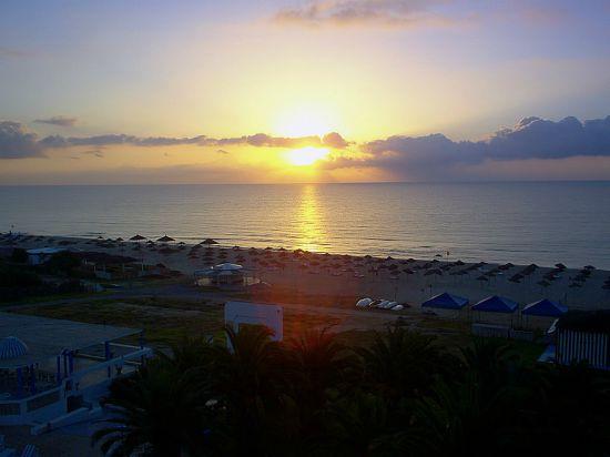 tramonto Hammamet