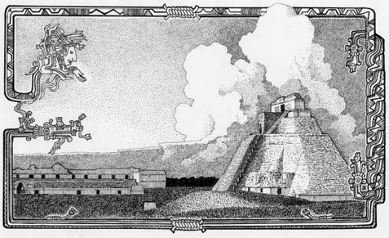 illustrazione Chichen Itzà