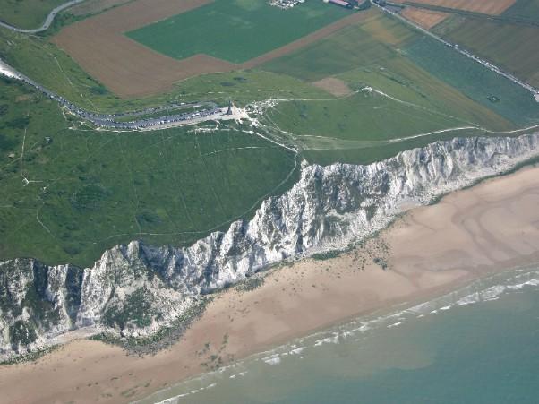 Le scogliere di Calais