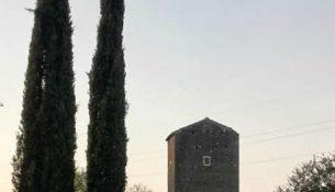 torre di mezzavia di Frascati