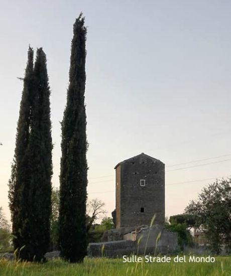 panorama della Torre di Mezzavia di Frascati