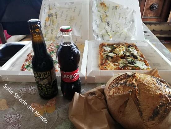 Il pane della pizzeria tredici 88