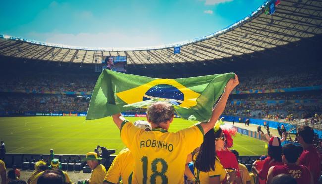 la bandiera brasiliana ha anche un significato e una valore sportivo