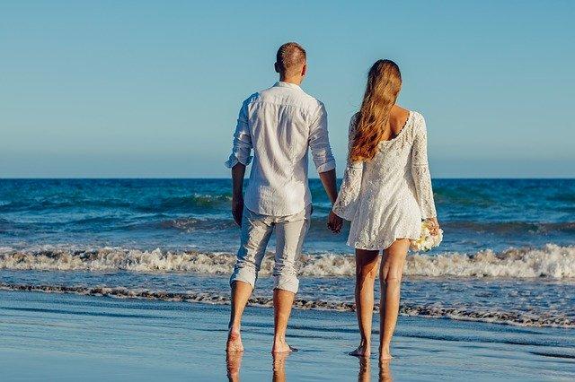 Coppia in viaggio di nozze