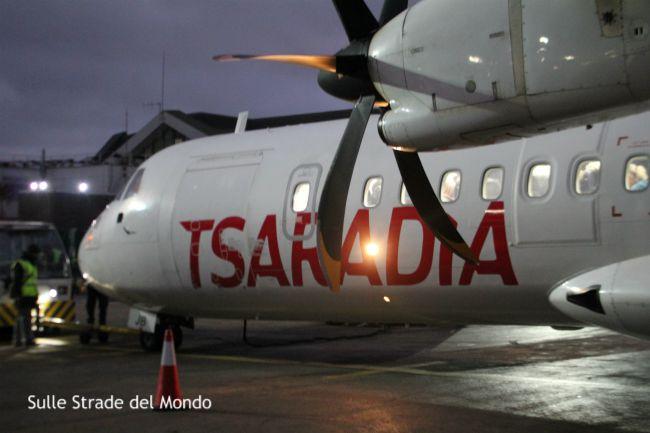 Aereo Tsaradia aeroporto nosy be