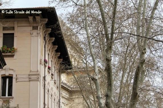 Ghetto di Roma, lungotevere e la sinagoga