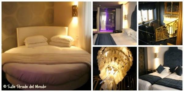 Le camere dell'hotel al ghetto di roma