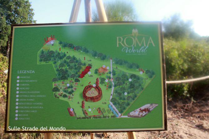 Mappa Roma World