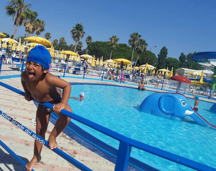 Leone all'acquapark miami beach di latina