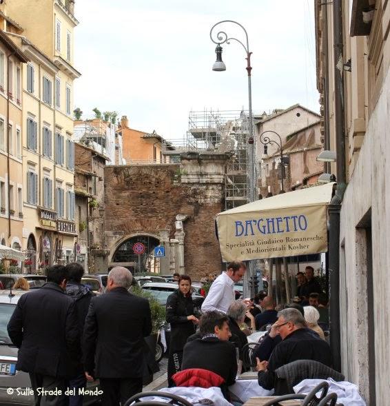 Mangiare al Ghetto di Roma