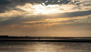 tramonto a terschelling