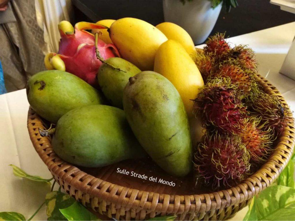 selezione di frutta thailandese