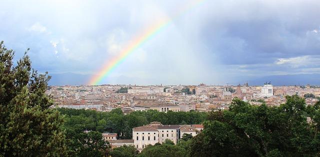 arcobaleno a roma