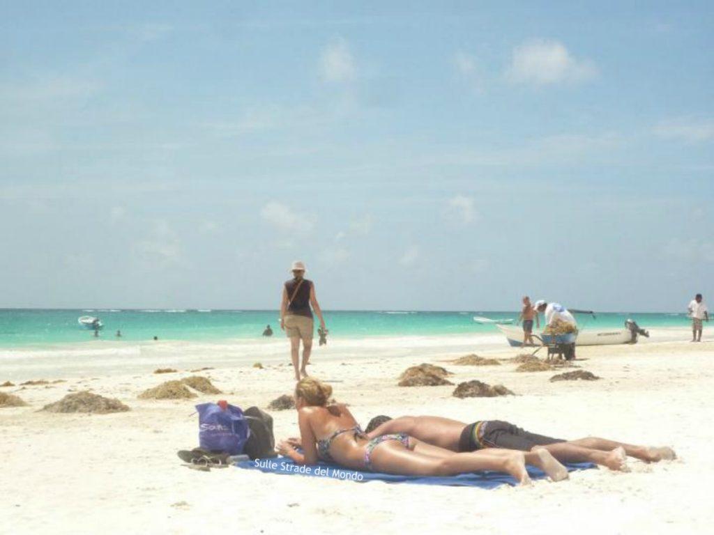 spiaggia tulum