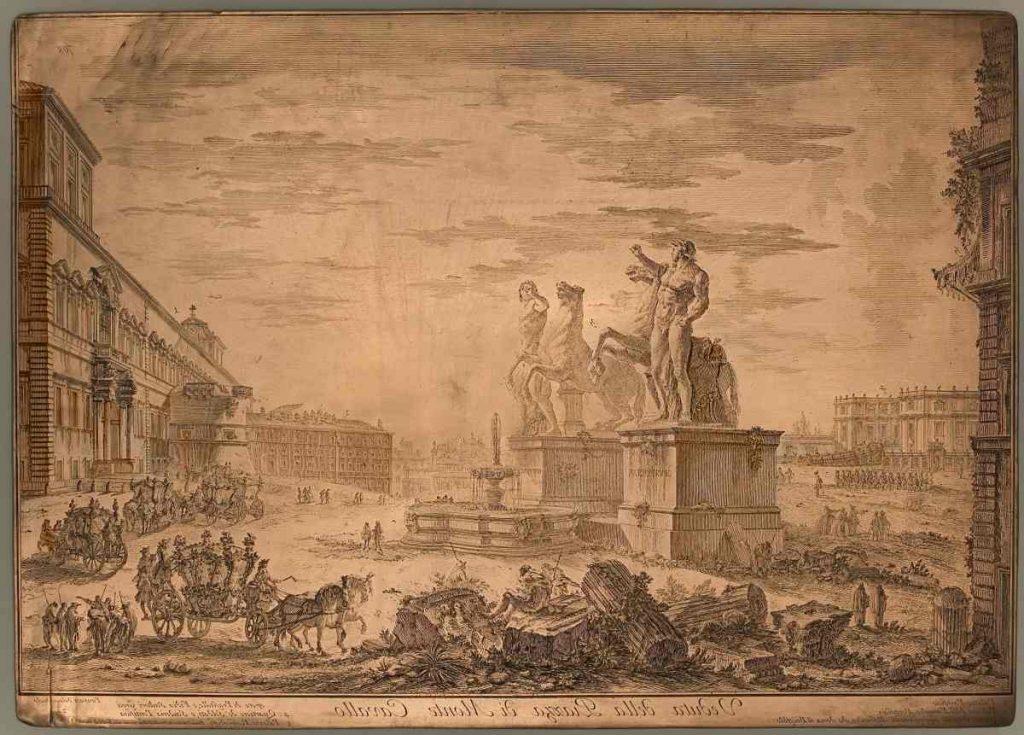 Mostra Piranesi a Roma