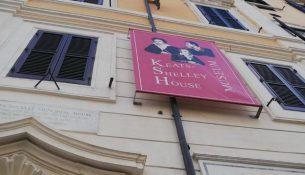 Casa keats shelly