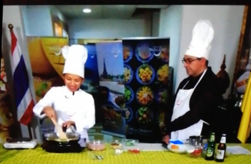 chef yok in diretta per A Cena con il giornalista