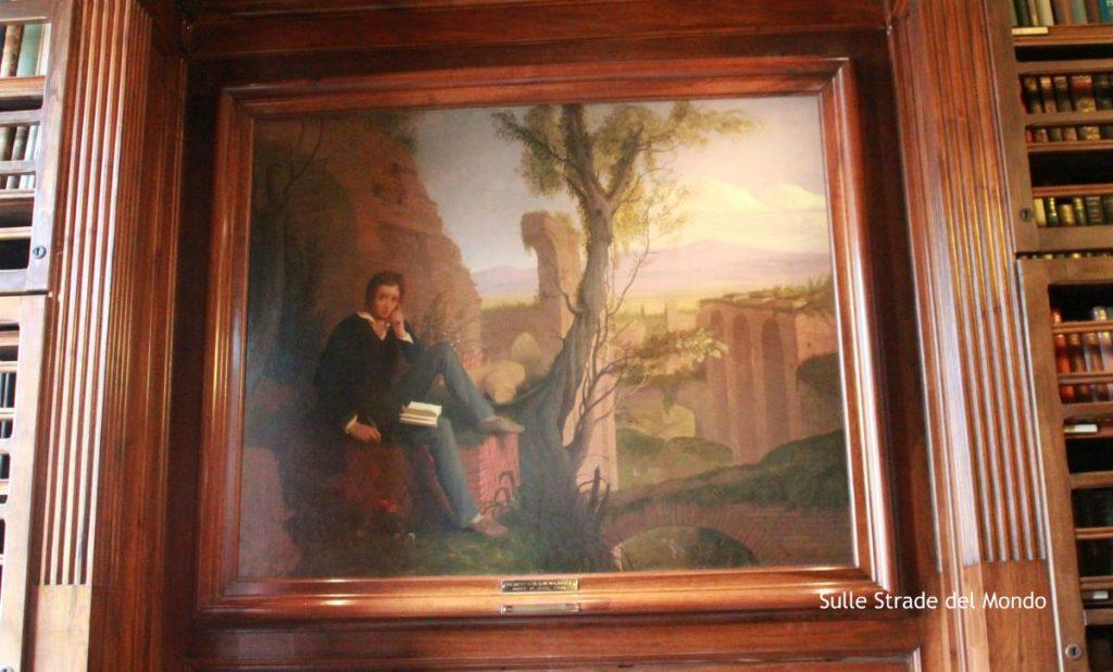 Shelley ritratto da Severn