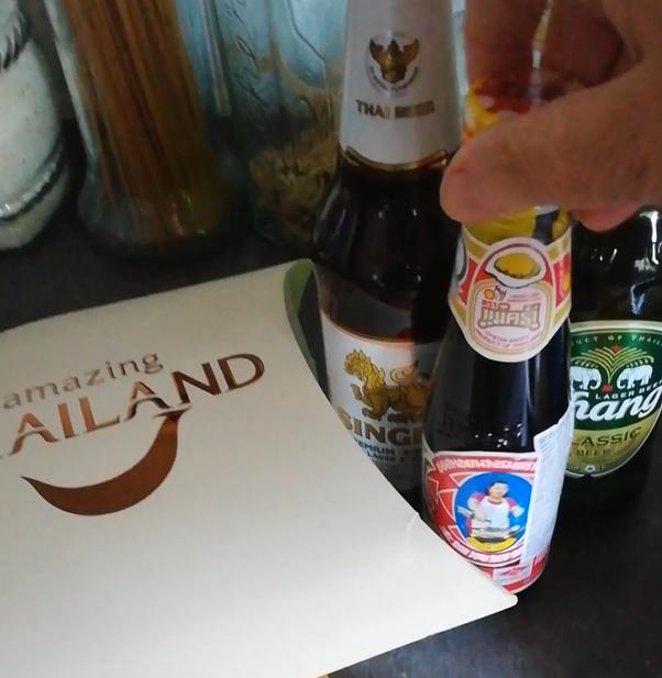 Salsa di ostriche e birre thailandesi