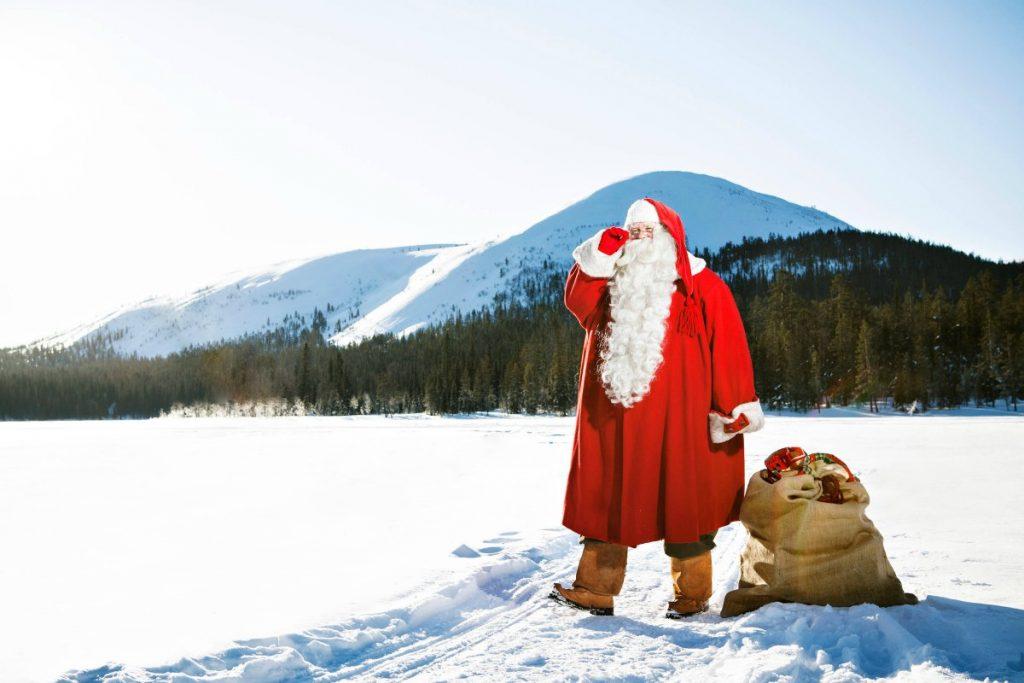 Babbo Natale vive in Finlandia