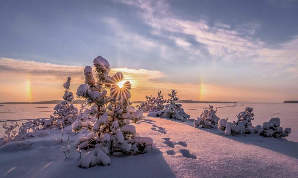Finlandia inverno a natale