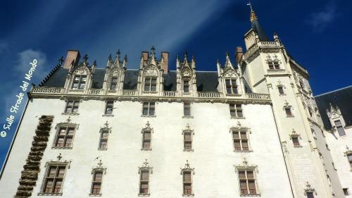 Castello dei duchi di bretagna a Nantes