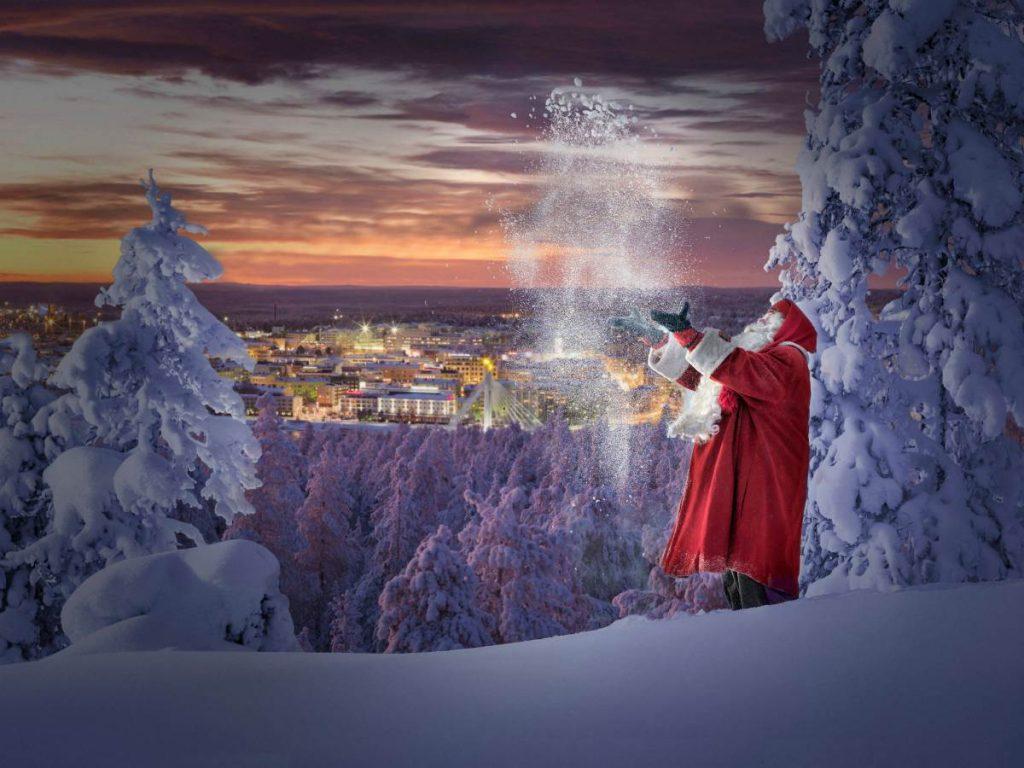 Babbo Natale in Finlandia