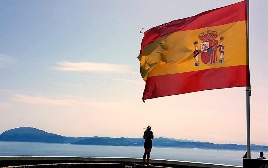 bandiera spagnola mare