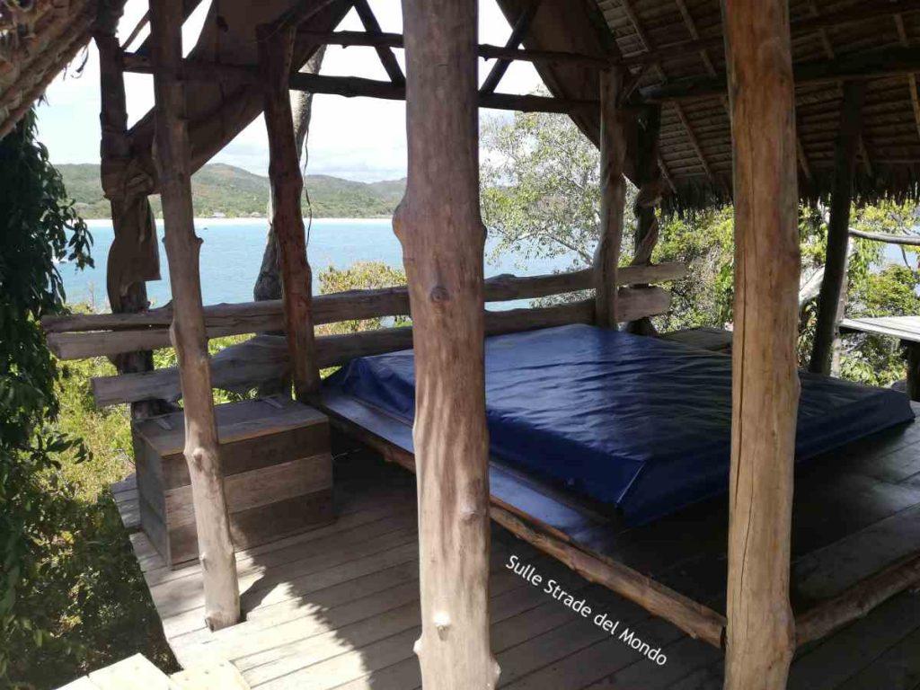 isola dei lemuri, camera con vista