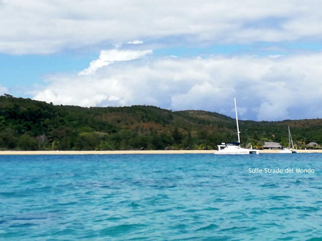 Radama in catamarano