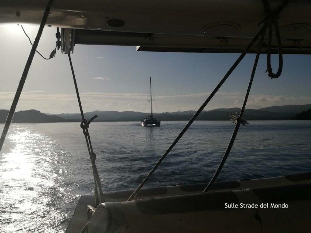 ritorno a Nosy Be in catamarano dopo la crociera alle Radama