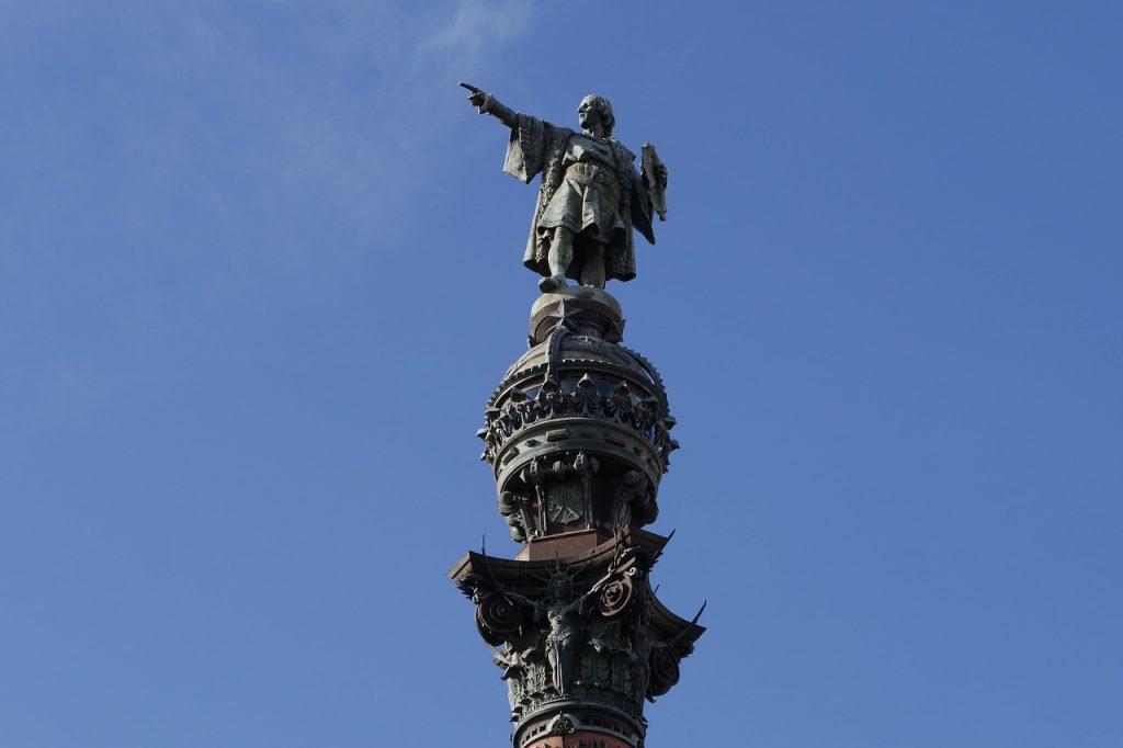 Cristoforo Colombo statua Barcellona