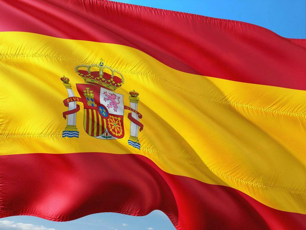colori bandiera spagnola