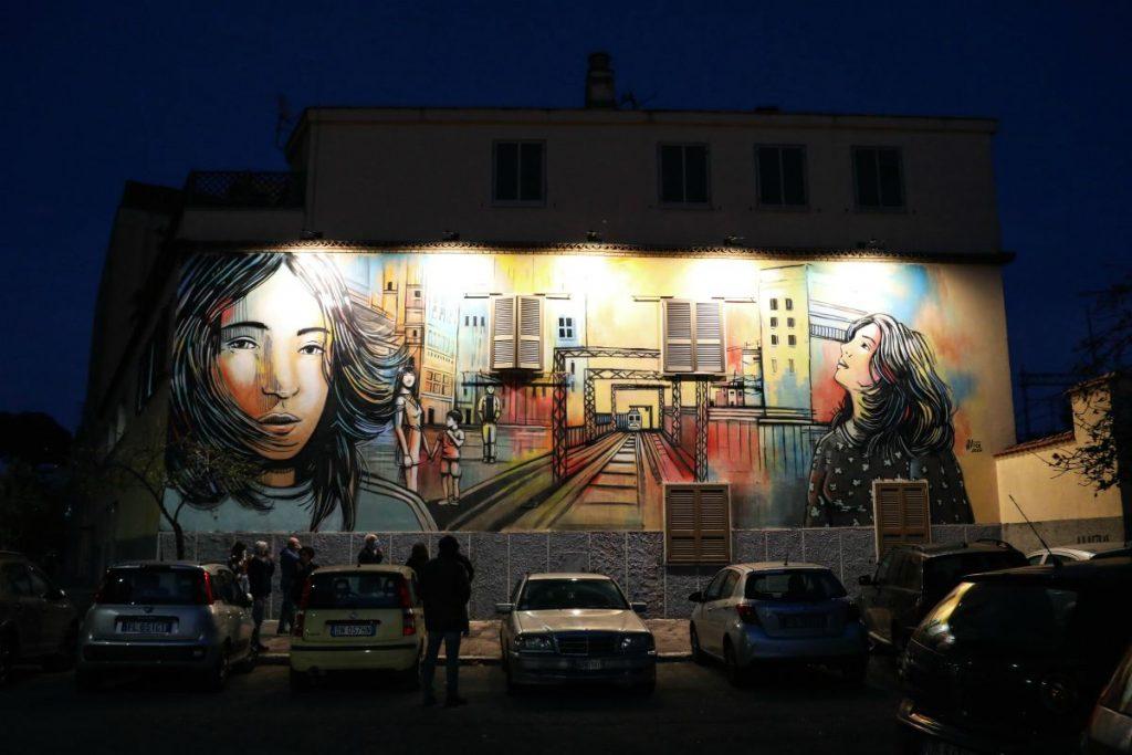 street art a Roma casal bertone