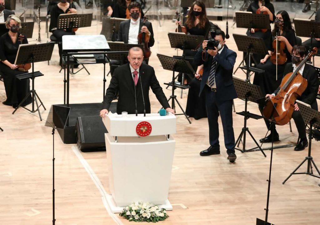 Presidente della Repubblica di Turchia Recep Tayyip Erdoğan