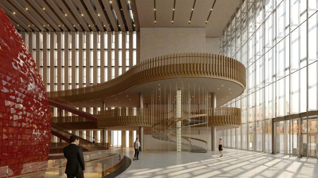 interno centro culturale di turchia