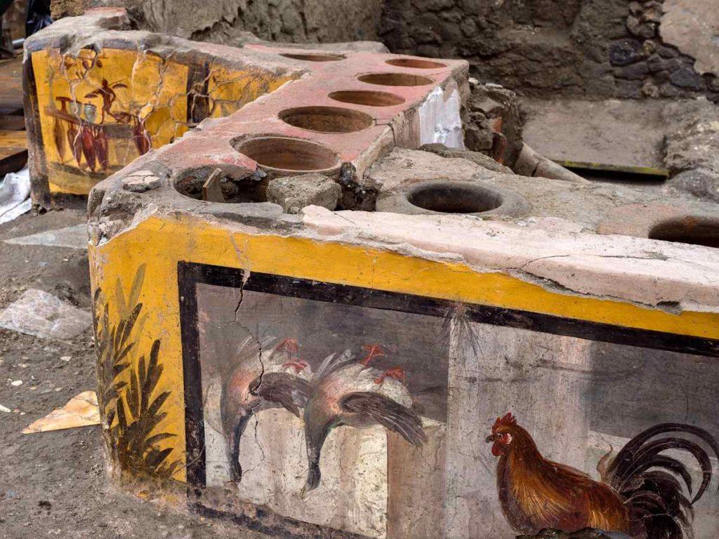 affresco termopolio Pompei
