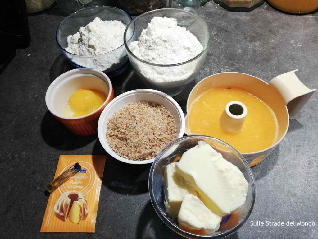 ingredienti della ricetta dei kourabiedes