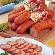 Una Cosa da mangiare in Polonia è la salsiccia lisiecka