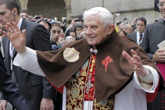 Papa Ratzinger a Santiago de Compostela