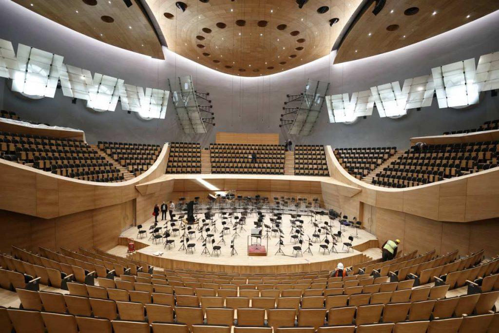 Sala concerto di Ankara, Turchia