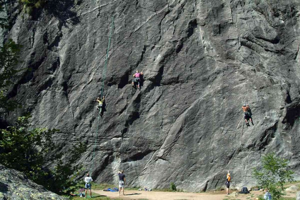 arrampicare in valtellina
