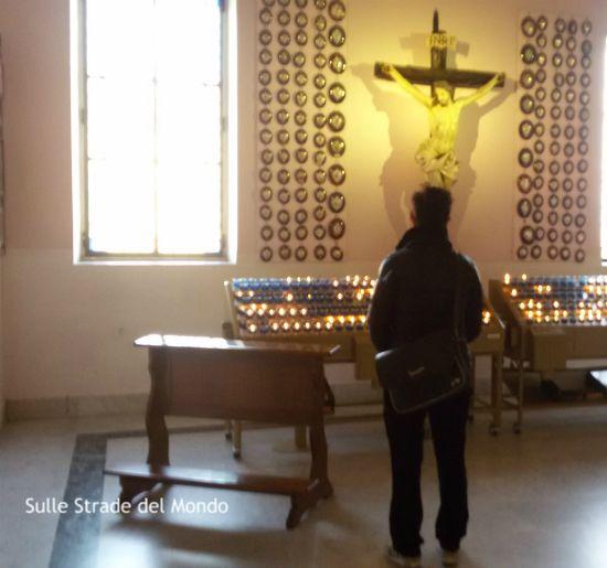 fedele al Santuario del divino amore