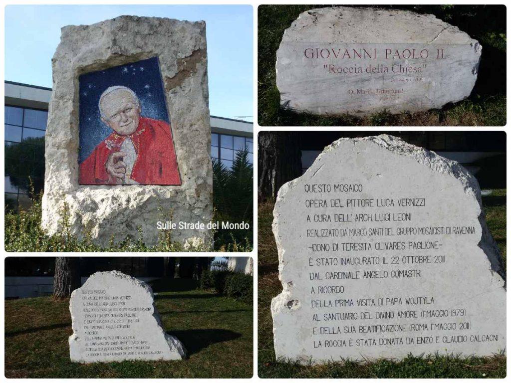 Giovanni Paolo II Santuario del divino amore