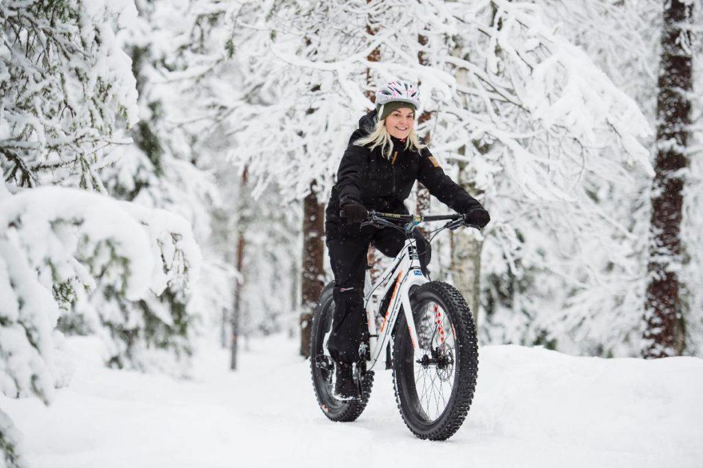 fat bike in Filandia