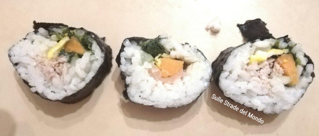 ricetta kimbap corea