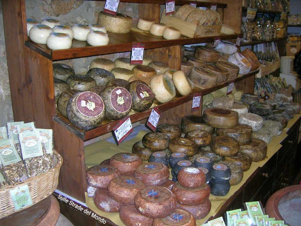 formaggi pienza