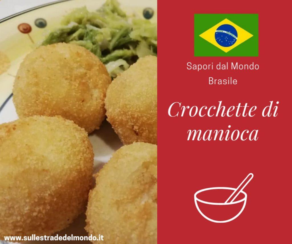 ricetta crocchette di manioca